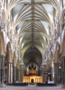 The Nave, Lincoln Cathedral UK.